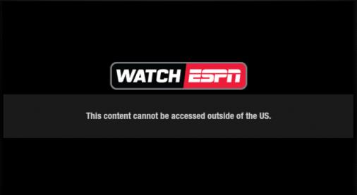 ESPN Error
