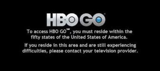 HBO GO Error