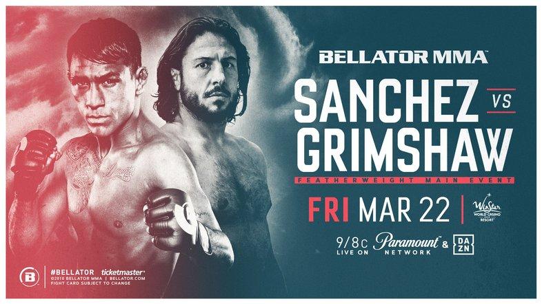 How to Watch Bellator 218- Sanchez vs. Grimshaw Live Online