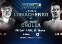 Watch Lomachenko vs. Crolla Anywhere