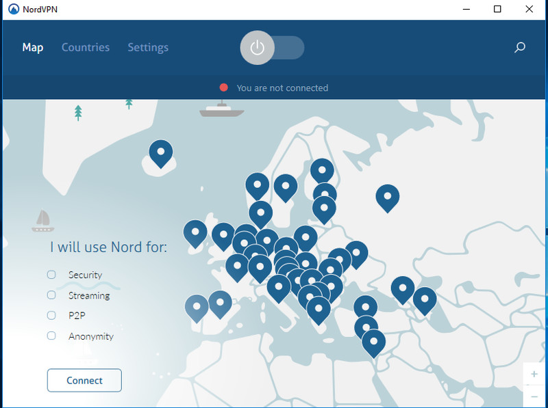 NordVPN App for Windows