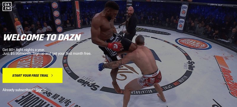 Stream Bellator 221 Anywhere with VPN
