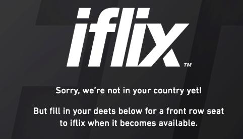 iflix Error