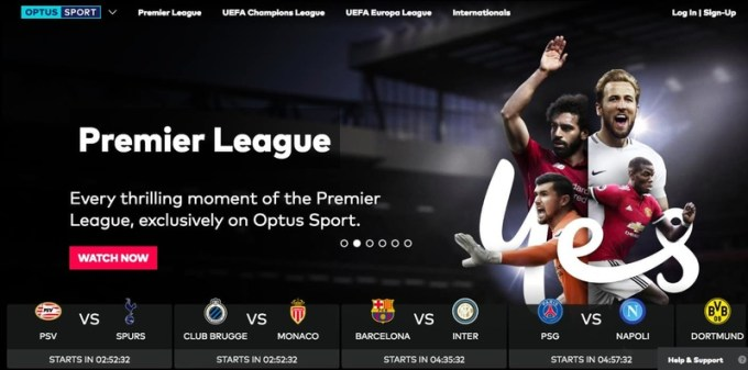 Stream Optus Sport Anywhere with VPN