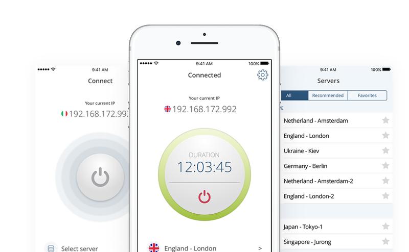 SwitchVPN iOS App