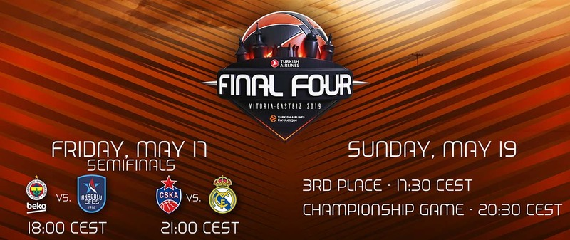 Watch 2019 EuroLeague Final Four Anywhere with VPN or Smart DNS