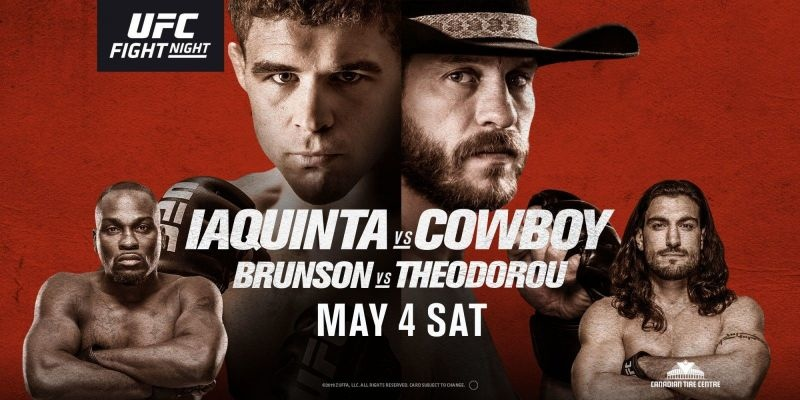 Stream UFC Fight Night 151 Anywhere