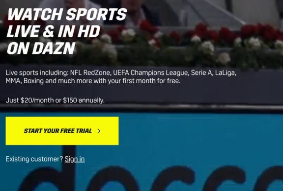 DAZN Canada Subscription