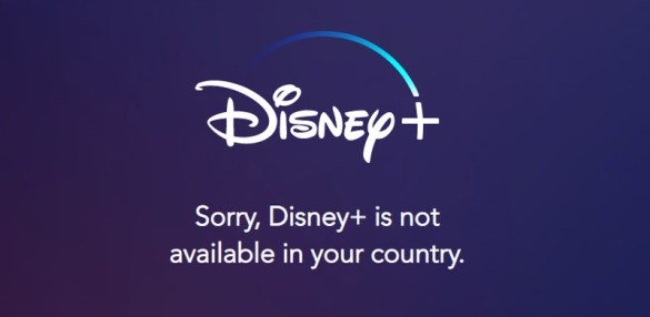 Disney+ Error Message