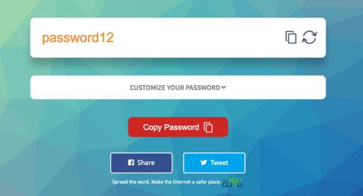 Orange Password`