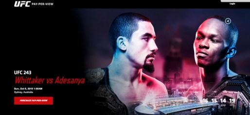 UFC 243 French Server