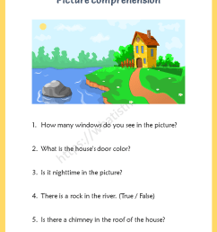 Picture Comprehension for 5th Grade - Your Home Teacher [ 1056 x 816 Pixel ]