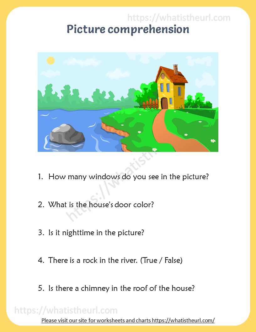 hight resolution of Picture Comprehension for 5th Grade - Your Home Teacher