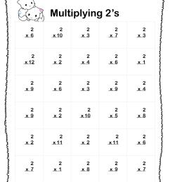 Multiplication Worksheets (5 Printable Worksheets) PDF - Your Home Teacher [ 1056 x 816 Pixel ]