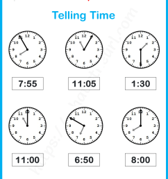 Telling Time Worksheets for Grade 3 - Your Home Teacher [ 1056 x 816 Pixel ]