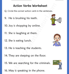 action-verbs-worksheets-for-grade-1-rel-1-2 - Your Home Teacher [ 1056 x 816 Pixel ]
