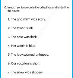 Adjective Worksheet For Grade 1 – Belajar [ 1056 x 816 Pixel ]