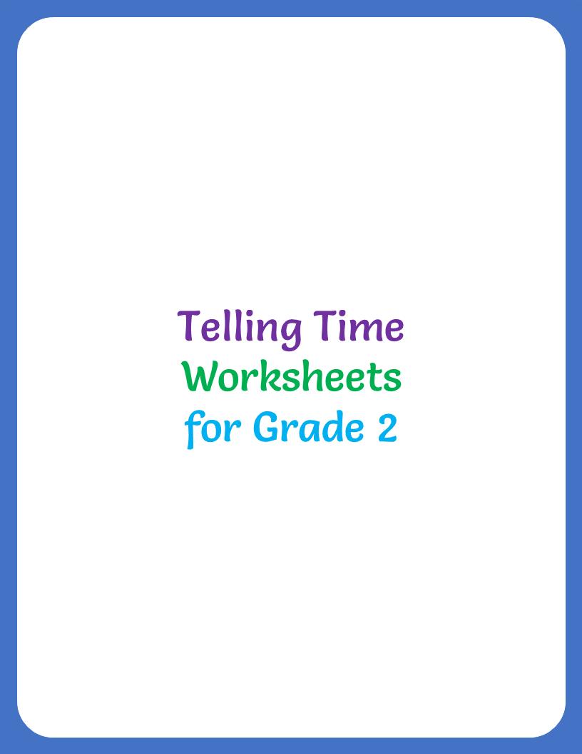 medium resolution of telling-time-worksheet-for-grade-2-title - Your Home Teacher