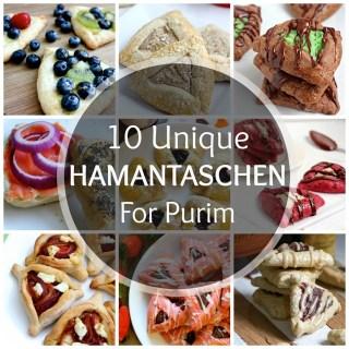 10 Unique Hamantaschen!