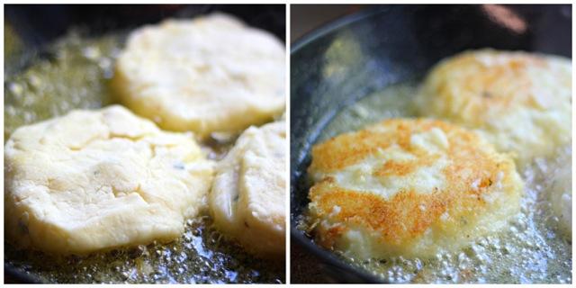 Gorgonzola Mashed Potato Latkes with Jalapeño Apple Relish 8