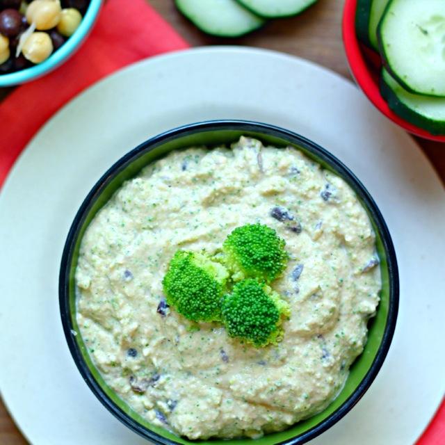 Broccoli Black Bean Hummus