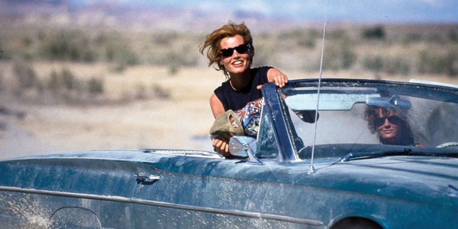 Geena Davis in Thelma & Louise - Five epic films about solo female travel