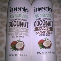 Dry, Damaged & Frizzy Hair? | Inecto's Coconut Shampoo & Conditoner Are Miracle Workers (Review)