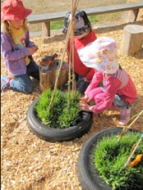 Recycle old tyres, they're not just for swinging in!