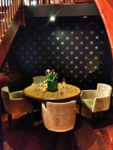 A fab nook for a more intimate evening
