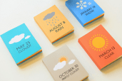 Fab weather notebooks