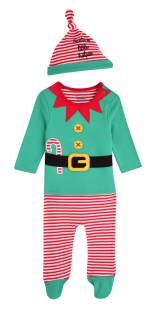 Elf Sleepsuit and Hat