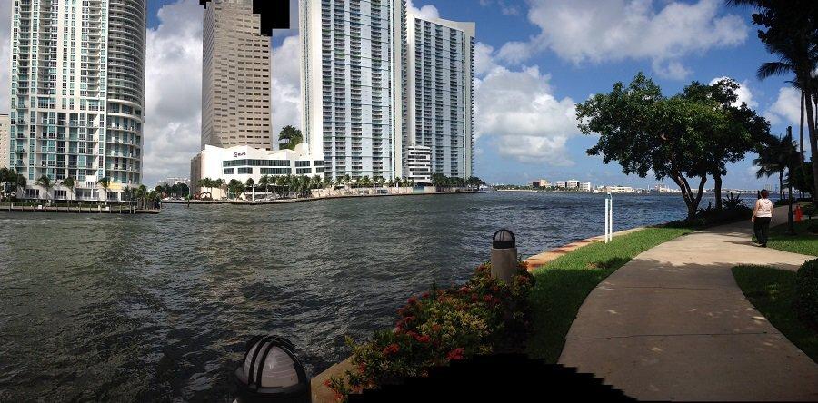 Brickell Key in Miami