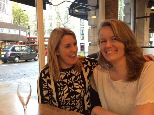 Kirsty and Shelley at Four to Eight