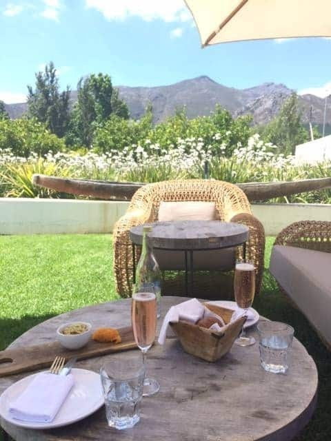 Wine in Franschhoek