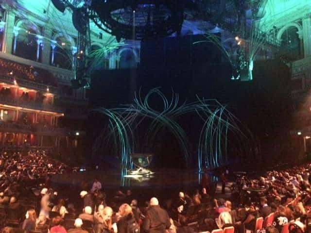 Cirque du Soleil stage at Royal Albert Hall