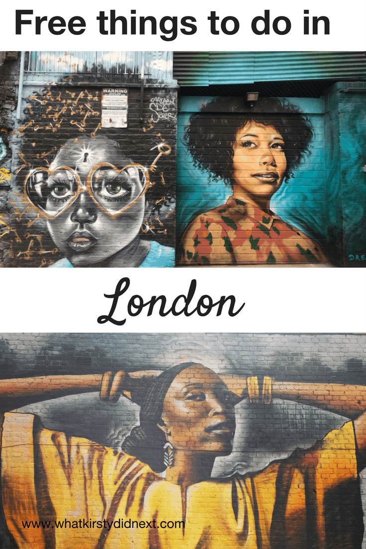 Free things to do in London, UK