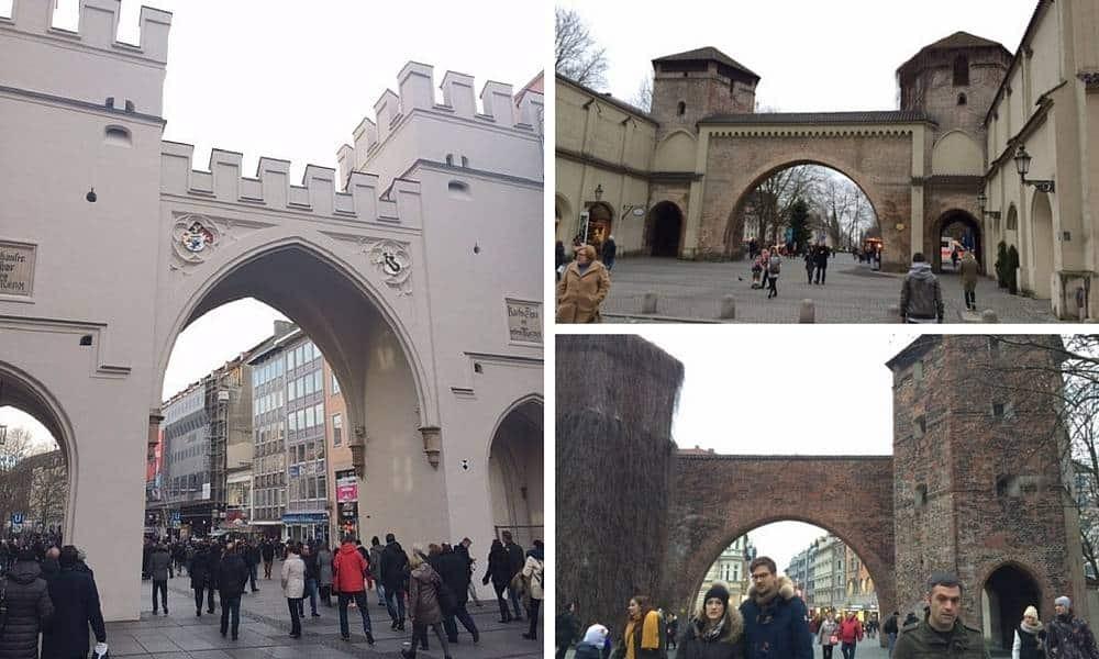 Munich City Gates