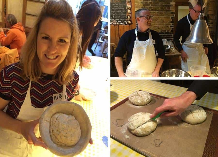 Le Pain baking class sourdough bread