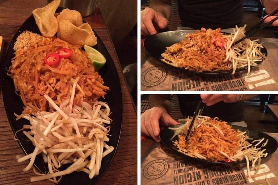 Phad Thai at Banana Tree