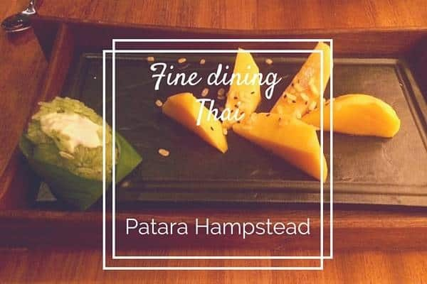 Fine dining Thai at Patara