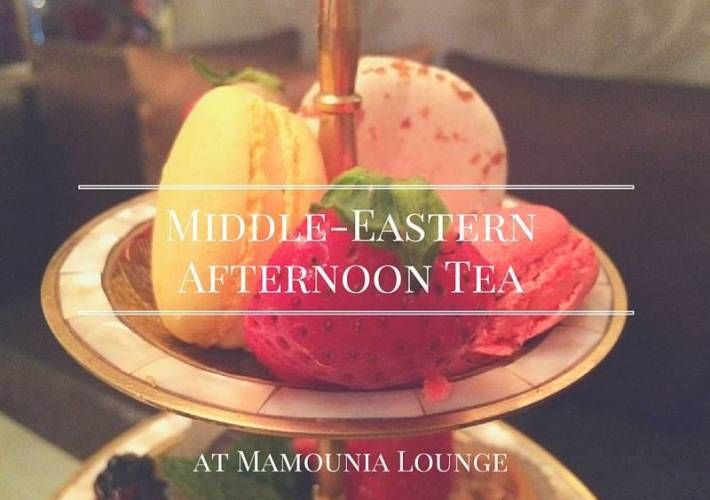 Middle-Eastern afternoon tea at Mamounia Lounge