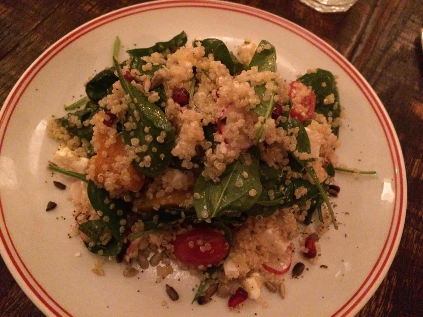 Quinoa salad starter