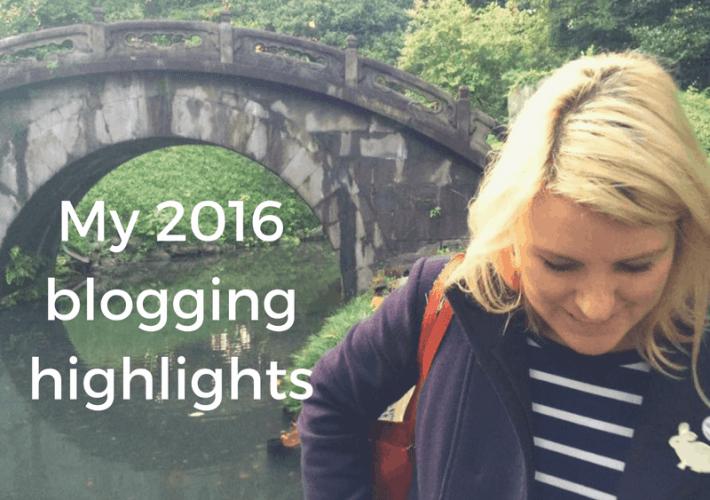 My 2016 blogging highlights