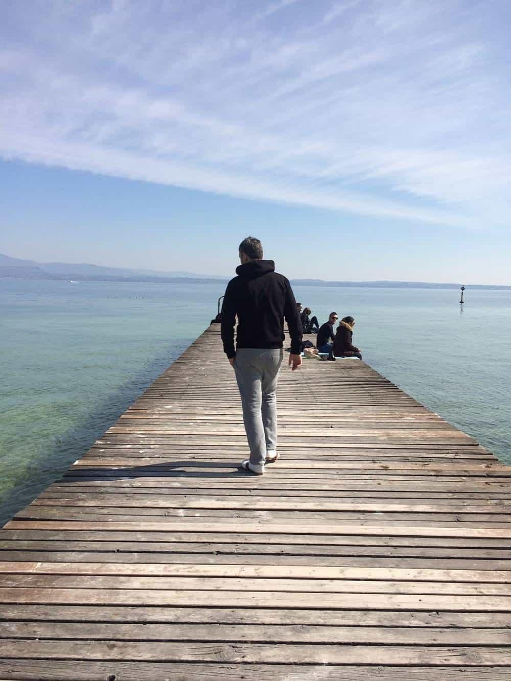 Pier in Sirmione