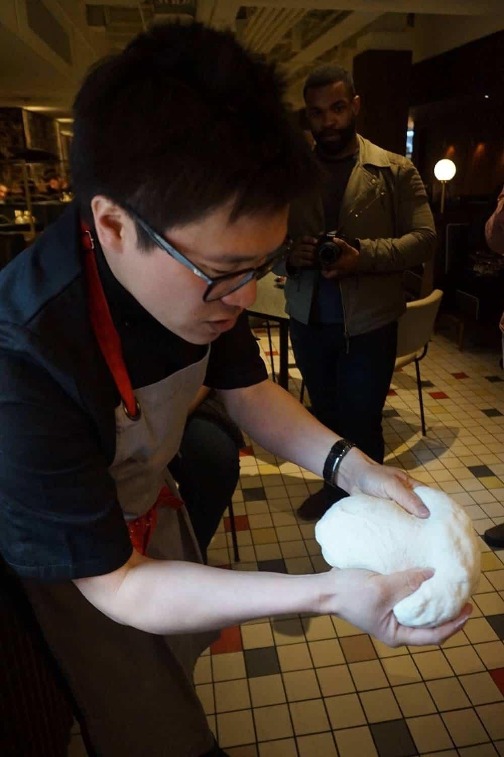 Jeremy Pang shows us Bao dough