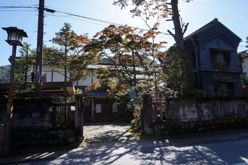 Nikko town in Japan