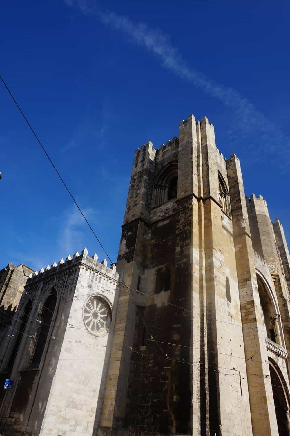 The Se cathedral Lisbon