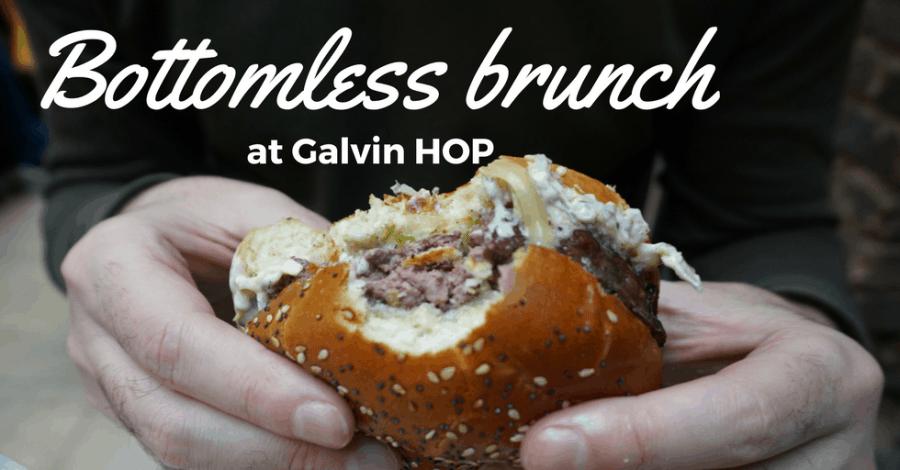 Bottomless brunch at Galvin HOP