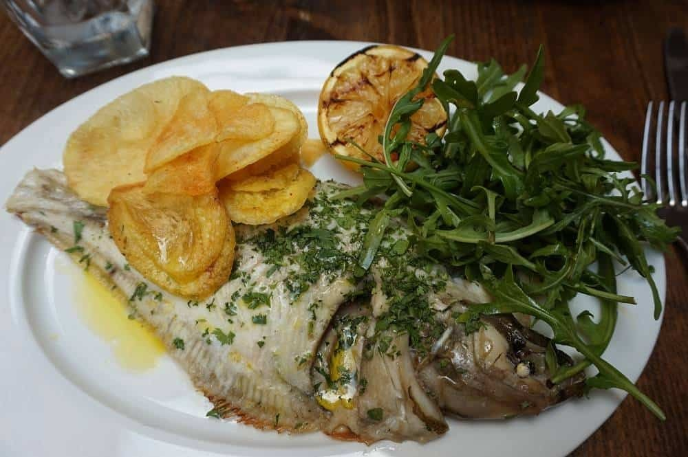 Fish of the day from Galvin HOP
