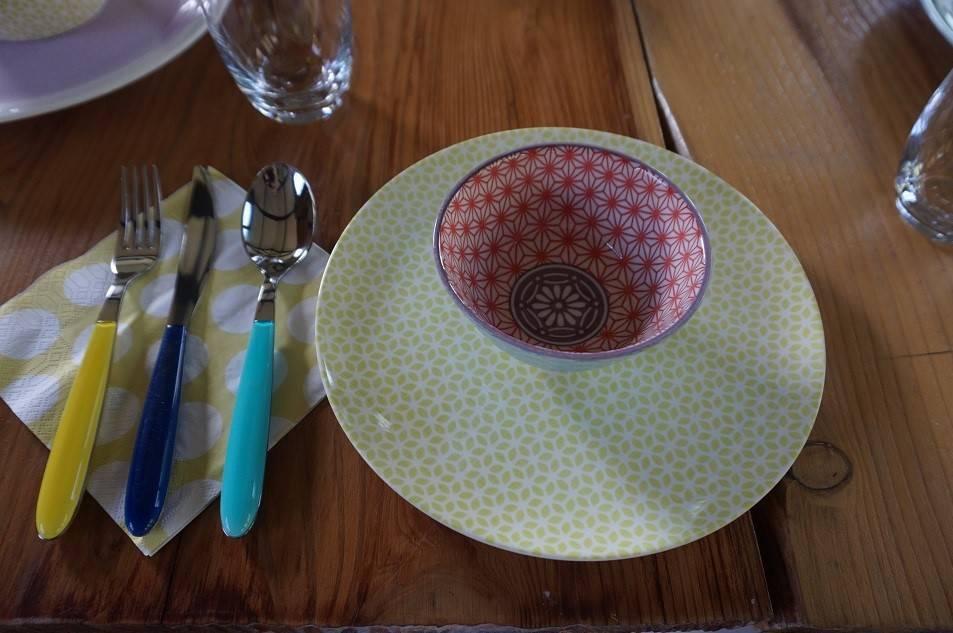 Table crockery from John Lewis